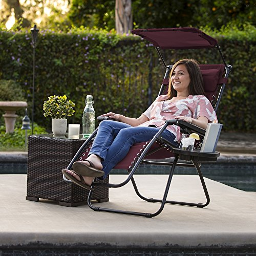 Folding Zero Gravity Recliner Lounge Chairs