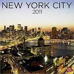 New York City 2011 Square 12X12 Wall Calendar Multilingual Edition