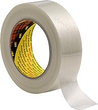 3M 7000035363 Scotch filamenttape, 8956, 50 mm x 50 m, transparant (set van 18 stuks), 0.13mm, transparant, 18