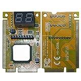 Facibom 2-Digit Portable Computer PC PCI PCI-E LPC Laptop Analyzer Tester Mother Board Debug Checker Diagnostic Card
