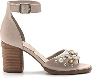 precios razonables DEI COLLI - Sandals in Leather Leather Leather with Ankle Strap and gems - CLOUD112514 CANAPA  bienvenido a elegir
