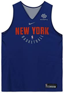 Michael Beasley New York Knicks Practice-Used #8 Reversible Jersey from the 2017-18 NBA Season - Size L - Fanatics Authentic Certified