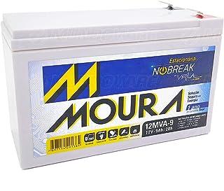 Bateria Moura Centrium ENERGY 12MVA-9 Estacionaria Nobreak 12V 9AH