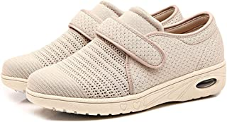 9a6e12345e Orthoshoes Womens Edema Shoes Mesh Breathable Lightweight Walking Sneakers  Air Cushion for Diabetic, Elderly,
