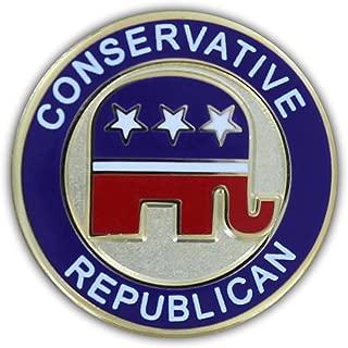Conservative Republican Lapel Pin