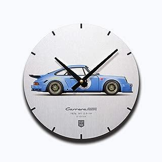 GarageProject101 1974 Classic 911 Carrera 3.0 RSR (GP Edition) Illustration Wall Clock