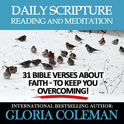 Daily Scripture Reading and Meditation Audiobook By Gloria Coleman cover art