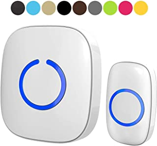 Wireless Doorbell by SadoTech – Waterproof Door Bells & Chimes Wireless Kit –..