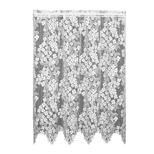 Heritage Lace Dogwood 55-Inch by 63-Inch Drop Ecru Panel