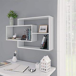 Estantería de Pared Flotante Librería Estantes Moderno para Libros CDs Baldas Flotantes Decoración de Pared para Habitació...