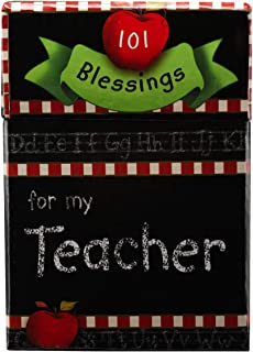 101 Blessings for My Teacher Cards - A Box of Blessings