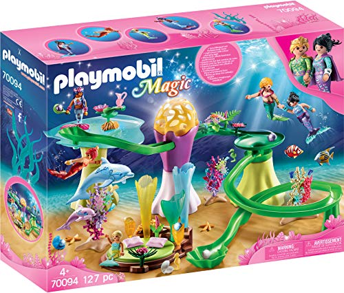 Buy Playmobil Mermaid Cove With Illuminated Dome Toys R Us