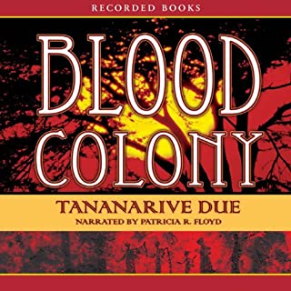 Blood Colony audiobook cover art