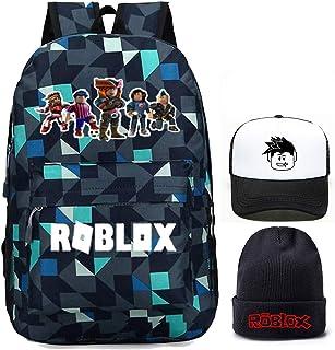 Kids Roblox Backpack, Student Bookbag Shcool Bag Laptop Daypack Travel Rucksack Computer Bag for Boys Girls Teens Game Fans Gifts (Lingger 1)