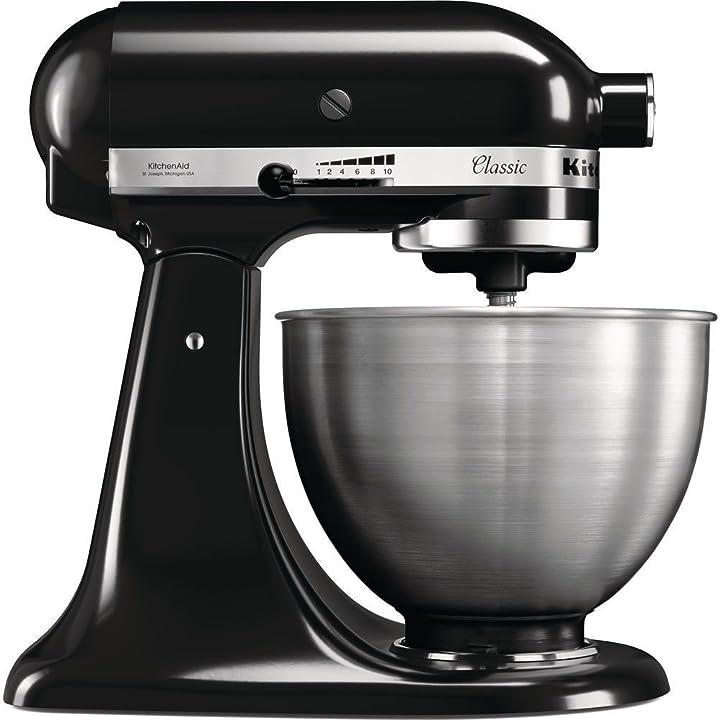 Robot da cucina classic, 4.3 l - nero onice kitchenaid 5k45sseob