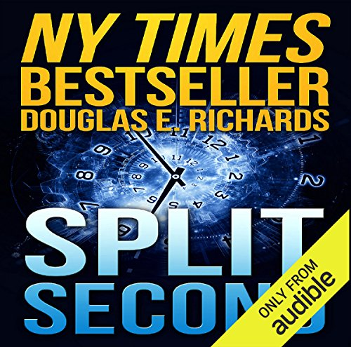 Split Second audiobook cover art