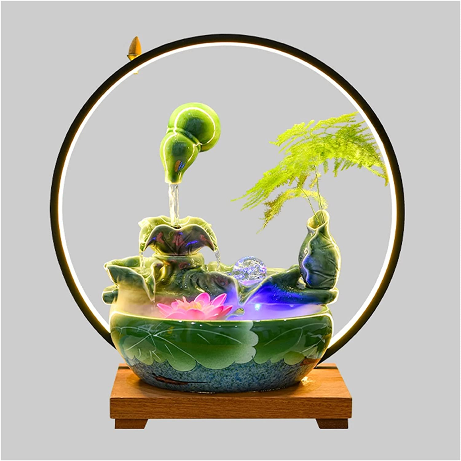 Water Fountain Desktop Ornament Quality inspection Fountains Tabletop Indoor Relaxa Selling