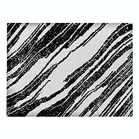 KEKEYANG Fuwatacchi黒、白のチェック柄のコットンリネンテーブルマットマットマットマットキッチン用品家の装飾テーブルは、海洋をマット ースター (Color : 87, Size : Approx 210X320MM)