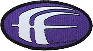 Fear Factory Purple FF Patch Band Logo Industrial Metal Music Sew On Applique