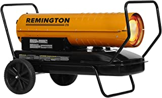 REMINGTON REM-215T-KFA-O 215,000 BTU kerosene heater, Orange/Black
