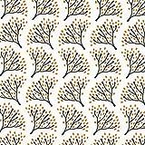 Fabulous Fabrics Botanical Elderflower Digital Bio Jersey