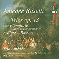 Trios 1-3 for Piano Flute & Bassoon