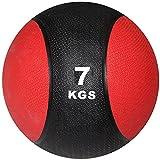 POWRX Balón Medicinal 7 kg - Ideal para Entrenamiento Funcional, Fisioterapia y Gimnasia...