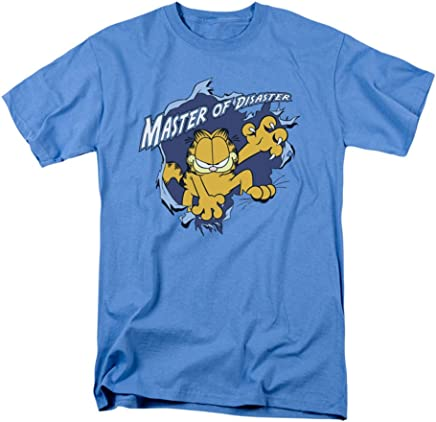 Garfield Master of Disaster Newspaper Comic Short Sleeve Adult T-Shirt Tee