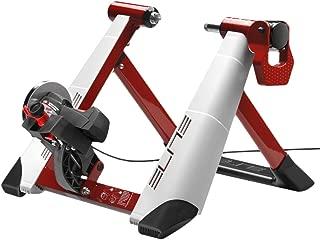 Elite Novo Force - Rodillo magnético de ciclismo (sistema de fijación rápida, máxima estabilidad), 8 niveles de resistencia