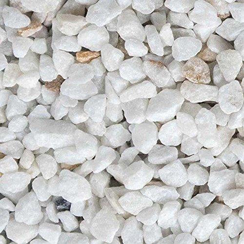 Marmor Weiss Ziersplitt 500kg Big Bag 9-12mm, 15-25mm und 25-40mm (9-12mm)