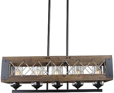 Amazon.com: Personalizar la creativa lámparas Retro araña de ...