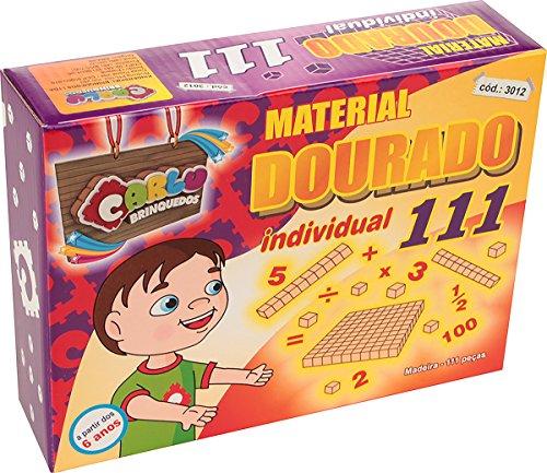 Carlu Brinquedos - Jogo para Aprender Matemática, 5+ Anos, 111 Peças, Color Multicolorido, 3012