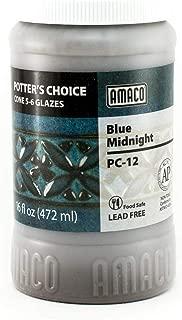 amaco blue midnight glaze