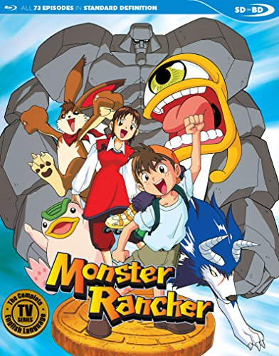 Monster Rancher Complete English Dubbed SDBD [Blu-ray]