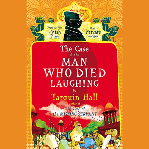 The Case of the Man Who Died Laughing audiobook cover art