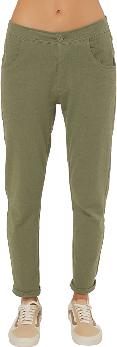O'NEILL Women's Minerva Knit Pant with Enzyme Wash