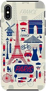 Macmerise IPCIXMTMI0374 City of Paris - Tough Case for iPhone XS Max - Multicolor (Pack of1)