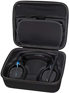Aproca Hard Protective Case Compatible with Astro Gaming A50 Wireless Dolby Gaming Headset (Black)