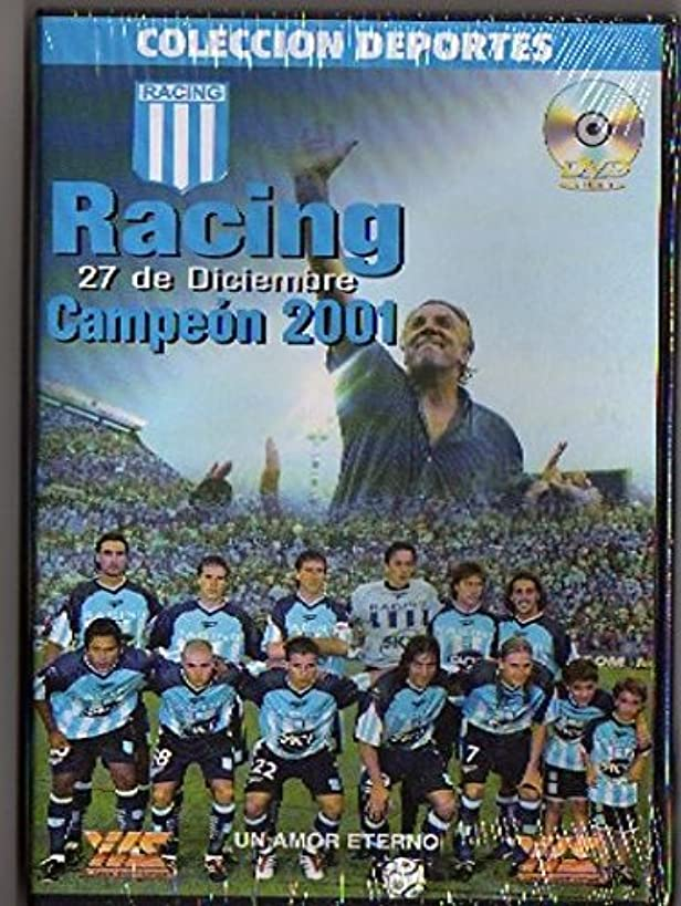 ARGENTINA RACING CLUB AVELLANEDA CHAMPION 2001 DVD