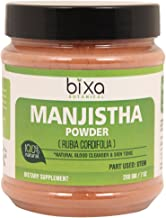 Manjistha Powder (Rubia cordifolia) Natural Blood Cleanser & Skin Tonic | Supports Proper Liver Function & Urinary System, Removes Harmful toxins & Heat from Blood | Herbal Face Pack (16 Oz/1 Pound)