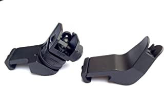 Ade Advanced Optics Front and Rear 45 Degree Rapid Transition Buis Backup Iron Sight