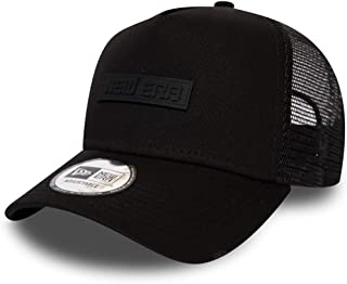 New Era Tech Trucker Cap - Black
