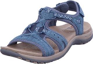 Earth Spirit 38014-20 Schuhe Damen Sandalen Trekking weiß
