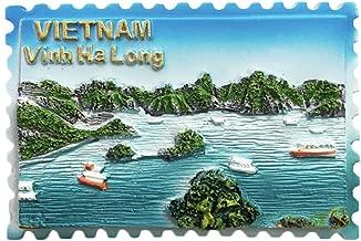 Wedarego 3D Vietnam Halong Bay Refrigerator Fridge Magnet Tourist Souvenirs Handmade Resin Craft Magnetic Stickers Home Kitchen Decoration Travel Gift
