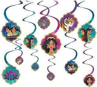 Disney's Aladdin 2 Spiral Decorations