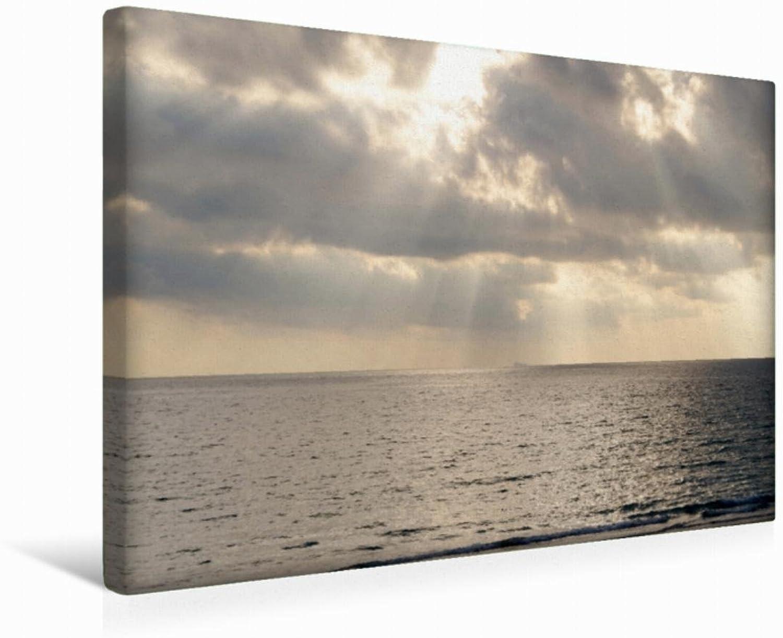 Calvendo Premium Textil-Leinwand 45 cm x 30 cm Quer Farben am Meer   Wandbild, Bild auf Keilrahmen, Fertigbild auf Echter Leinwand, Leinwanddruck Natur Natur B01KTE3B8E Attraktive Mode  | In hohem Grade geschätzt und weit vertrautes herein und heraus