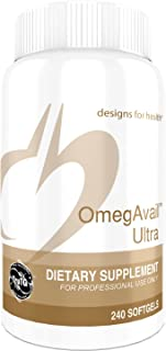 Designs for Health OmegAvail Ultra TG Fish Oil 1200mg - Triglyceride Fish Oil with No Fishy Aftertaste (240 Softgels)