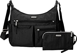 Baggallini Women's New ClassicHeritage Anywhere Large Hobo with RFID Phone Wristlet