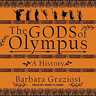 The Gods of Olympus audiobook cover art