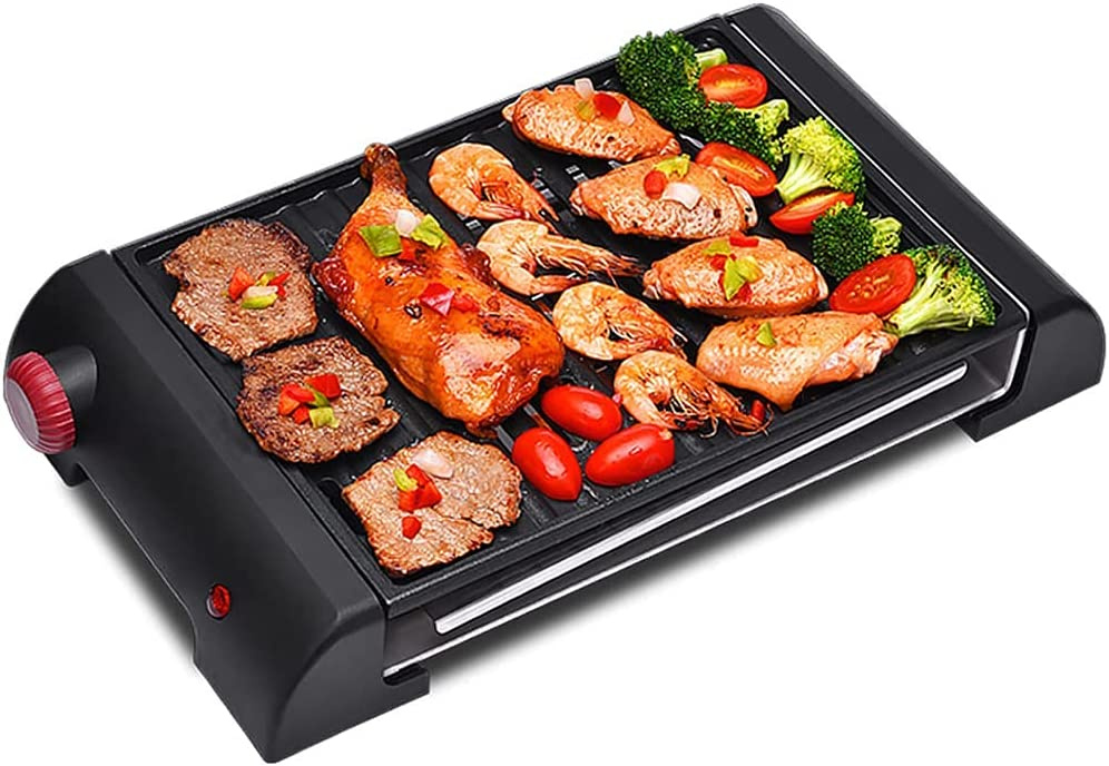 WFY Indoor Special Campaign Camping Grill ?Electric an Smokeless Popularity BBQ